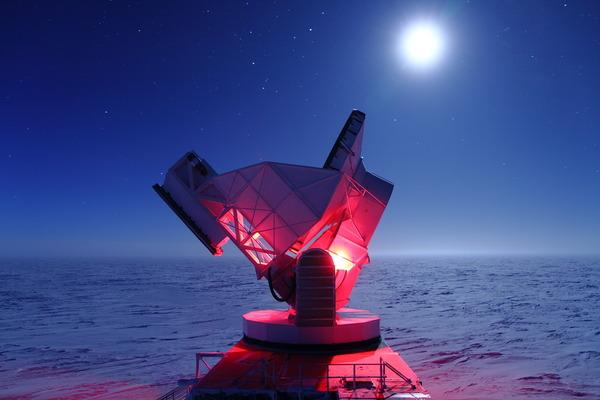 Южный полярный телескоп космос, астрономия, длиннопост