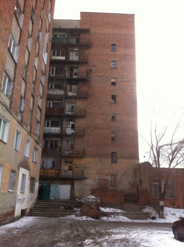 Гетто - общежитие. Общежитие, Вконтакте, Грязь, Длиннопост, Омск