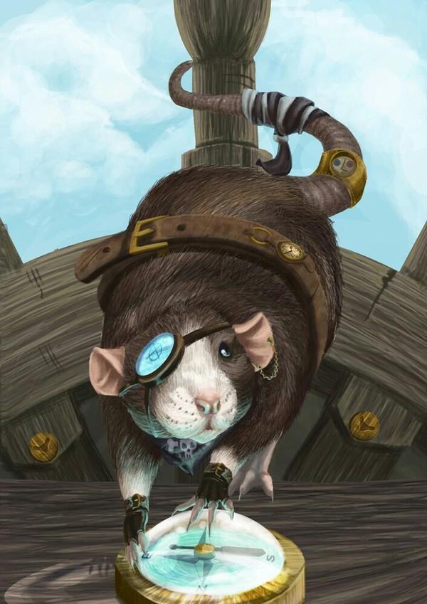 Куда бегут крысы? скептицизм, стимпанк, Затонувшие корабли, крысы бегут с корабля