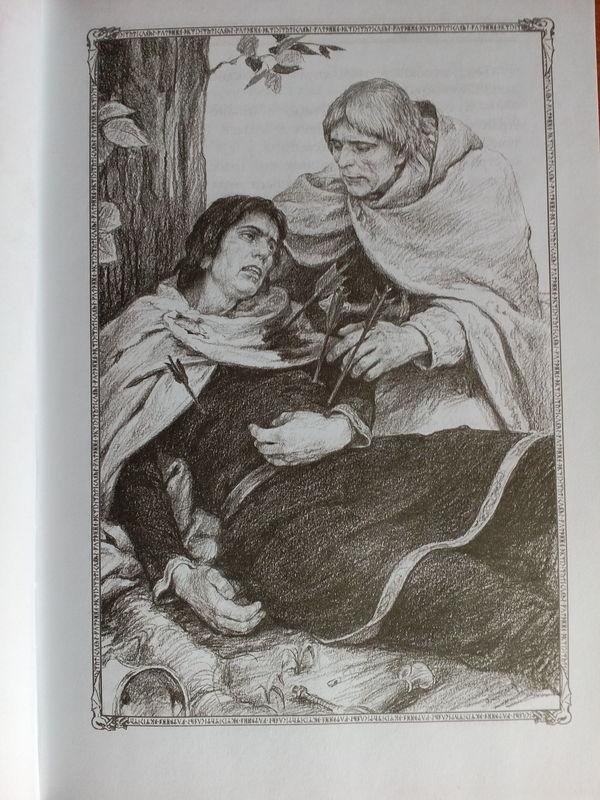 Дж. Р. Р. Толкин. Две крепости. Иллюстрации Дениса Гордеева. Толкин, Северо-Запад, Длиннопост