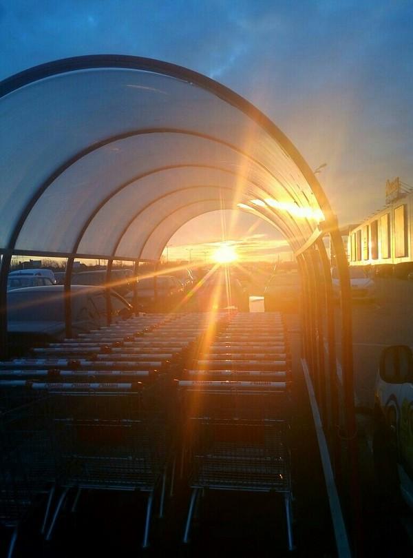 Закат в Одессе Вечер, Закат, Солнце, Тепло