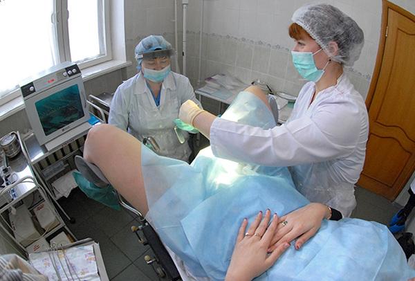 фотографии гинекологического осмотра
