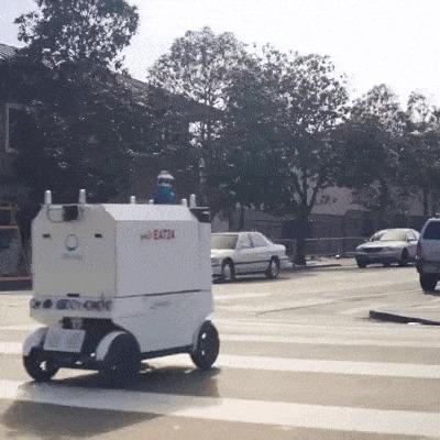 Робот-доставщик еды