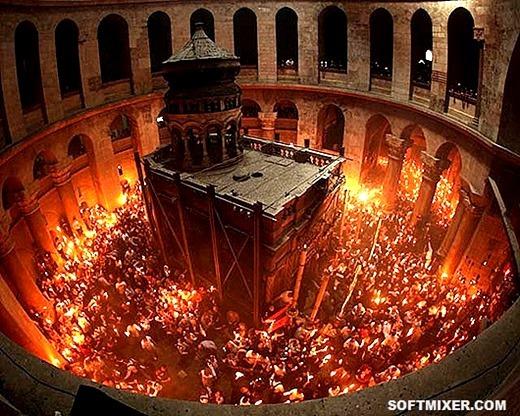 Чудо Благодатного Огня: История, гипотезы, факты | Пикабу
