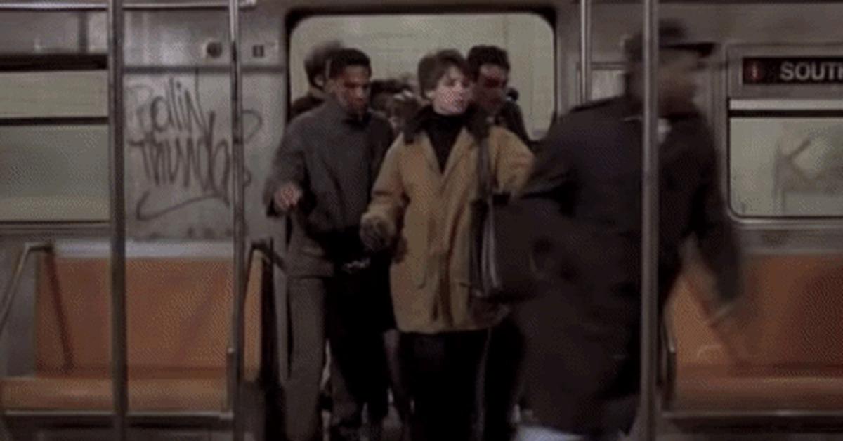 утро в метро гифка урожайности размеру