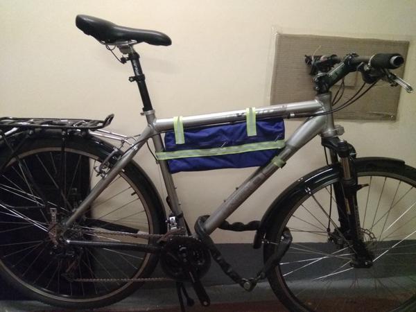 Подрамная велосумка своими руками велосипед, велосумка, длиннопост, шитьё моё, своими руками