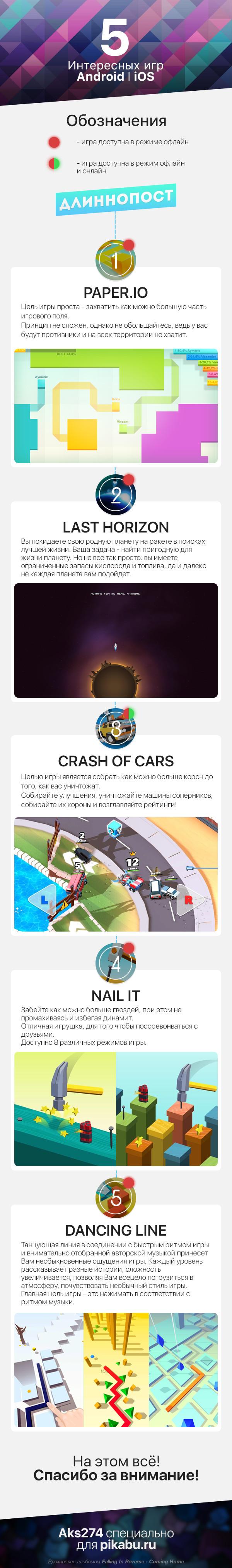 5 интересных игр для Android l iOS [длиннопост|серия постов про андроид|XXI часть] длиннопост, игры, android, ios, Интересное