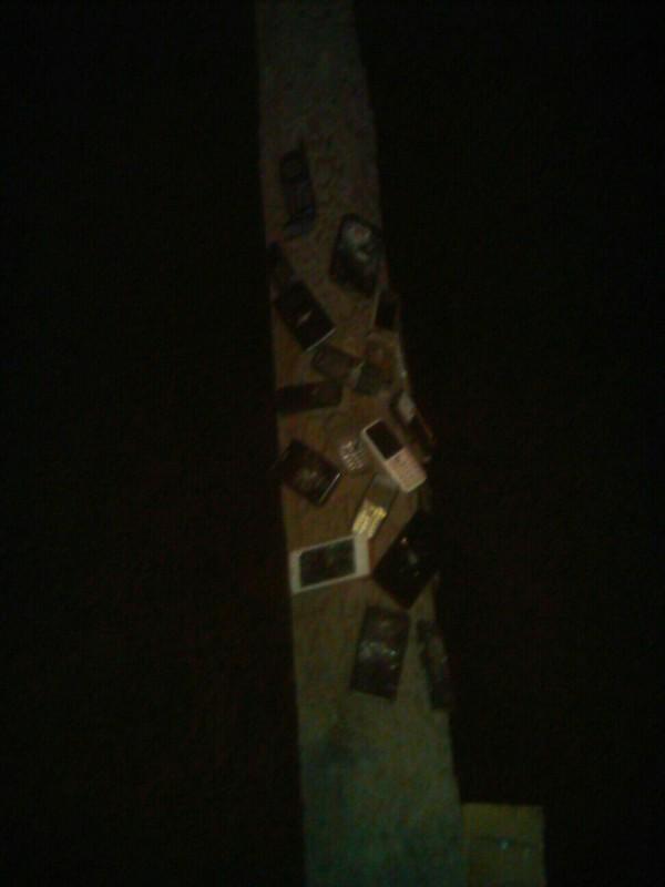 История развития телефонов на столбе в Барнауле Мобильные телефоны, телефон, развитие, прогресс, Столб, длиннопост