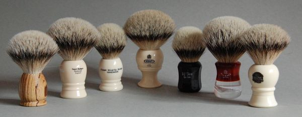 Выбор помазка для бритья любители классического бритья, классическое бритье, помазок, бритье, бритва, длиннопост