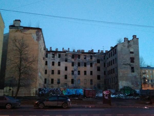 Заброшенный дом в центре Питера Санкт-Петербург, заброшенный дом