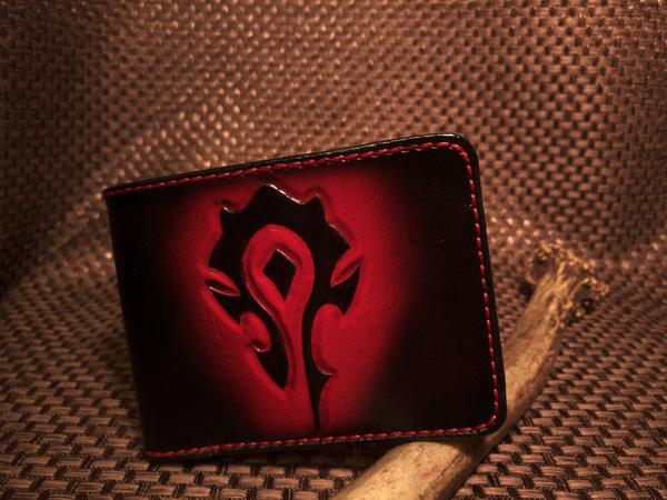 """На правах Пятничного """"моё"""" -  пара новых бифолдеров для геймеров Warhammer 40k, кошелек, warcraft, своими руками, Игры, длиннопост"""