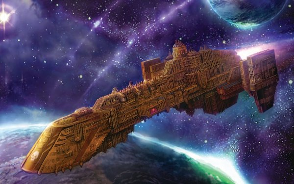 Звездолеты империума wh art, звездолеты, Warhammer 40k, длиннопост