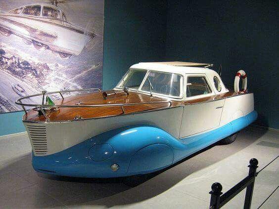 Фиат.1100 boatcar.1953 года.