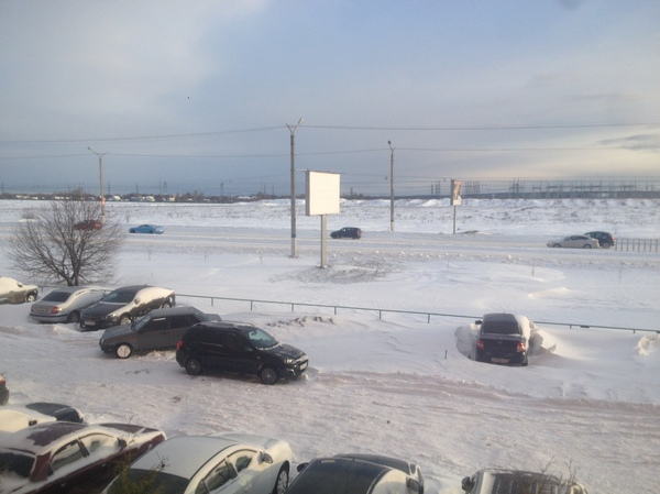 А у нас снежок! Погода, радует