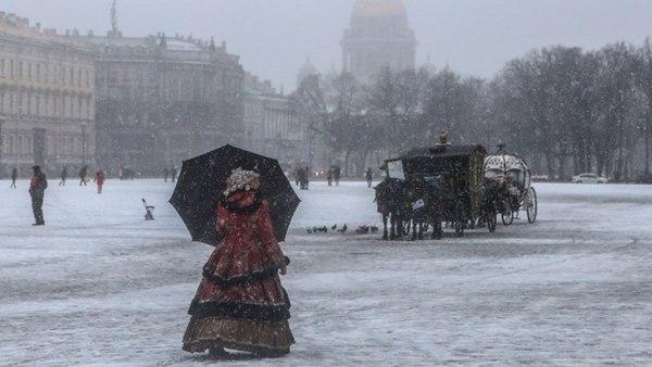 Конец апреля в Санкт-Петербурге