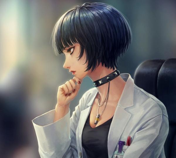 Anime Art №1009 Аниме, Anime Art, Persona, Persona 5, Takemi tae