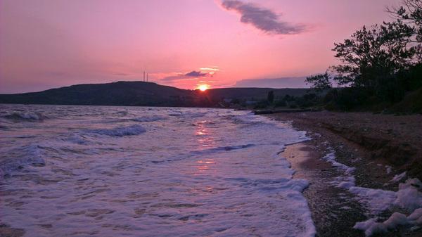 Рассвет в Крыму Керчь, Крым, Рассвет, Море