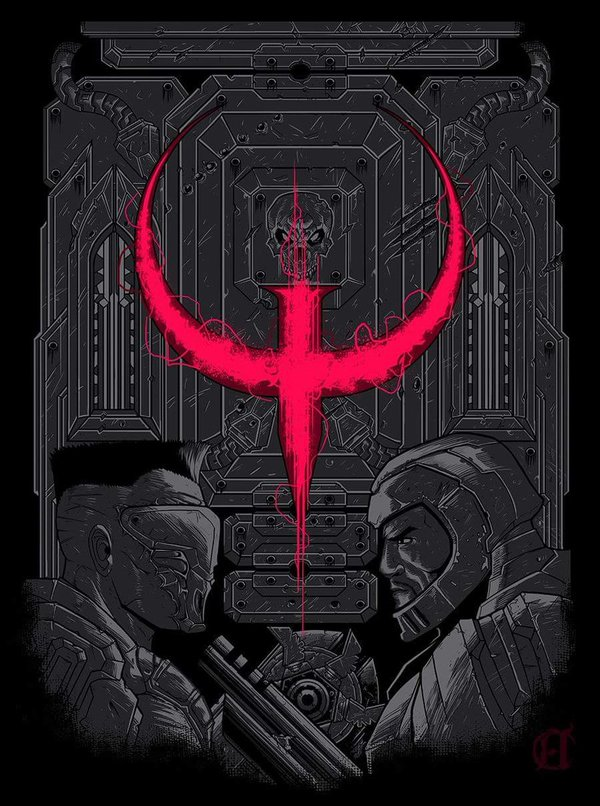 Quake Champions - Обсудим? Quake Champions, q3, Киберспорт, Игры, ЗБТ, Шутер