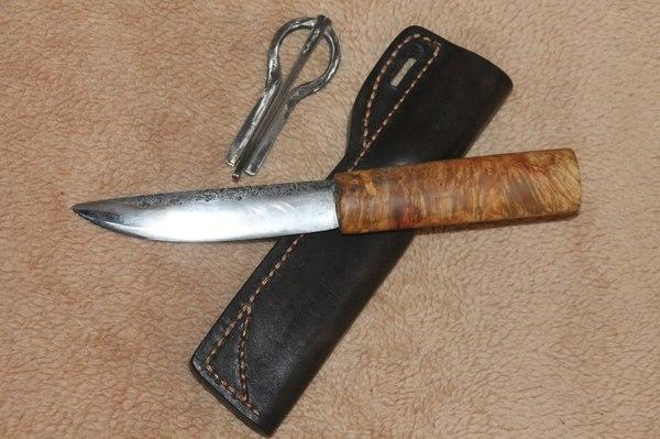 Больше ножей. нож, кузнец, ковка, сталь, кожа, ручная работа, рукоделие без процесса, длиннопост
