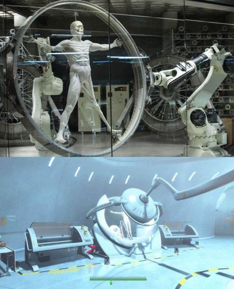 Westworld и Fallout 4 используют одинаковую технику для создания роботов