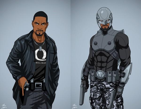 Арты с персонажами DC Comics от художника Phil Cho (15 часть) DC, Dc comics, арт, длиннопост, Комиксы, супергерои