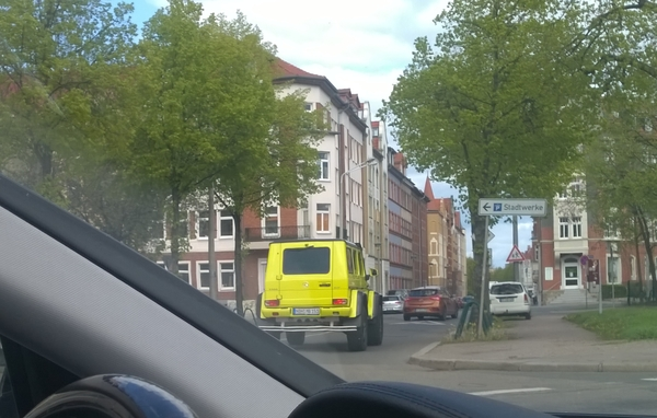 Кубик в квадрате гелендваген, gelenderwagen, mercedes-benz G 500, фотография, машина, Германия