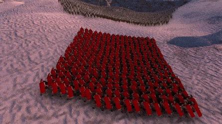 300 спартанцев против армии зомби. Кто кого? Игры, Симулятор, 300 спартанцев, Зомби, Гифка