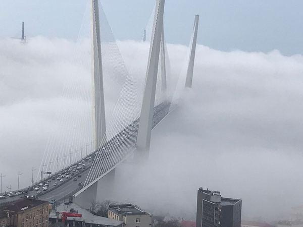 Утро Владивосток.