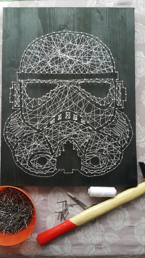 Когда хочется творить Рукоделие, Моё, String art