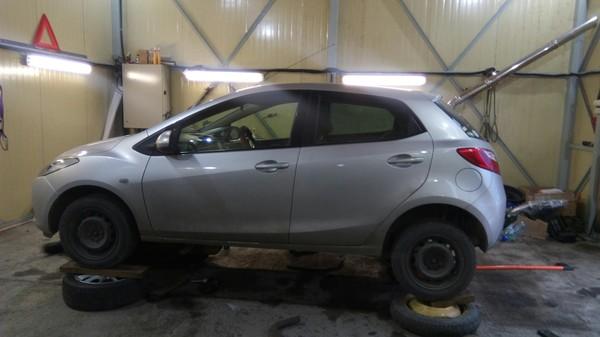 Техника безопасности 90+ уровня или замена глушителя ремонт авто, техника безопасности