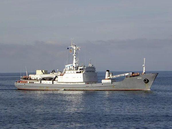 Разведывательный корабль «Лиман» затонул после столкновения Разведка, Крушение, неудача