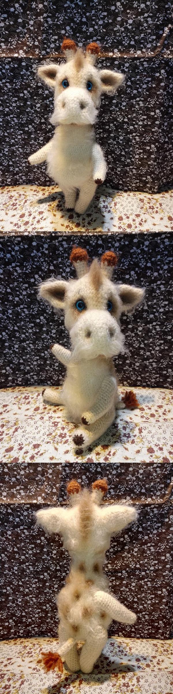 Жираф Степан. Взрослый, обаятельный мужчина! амигуруми, вязание крючком, хобби, жираф, игрушки крючком, мягкая игрушка, длиннопост