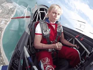 Высший пилотаж Светлана Капанина, Гифка, Авиация, Видео