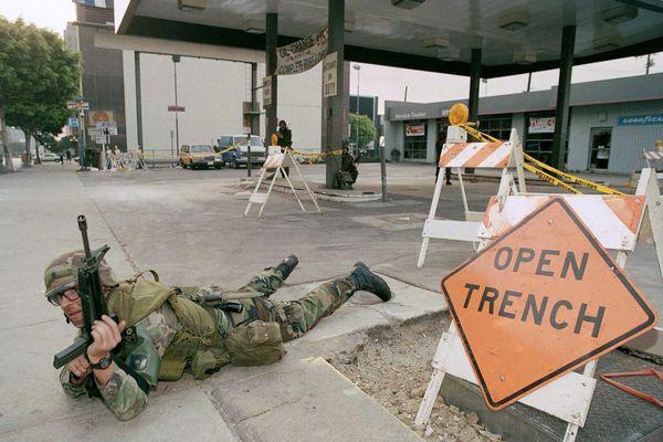 25 лет со дня начала лос-анджелесского бунта имени Родни Кинга Бунт, Родни Кинг, Лос-Анджелес