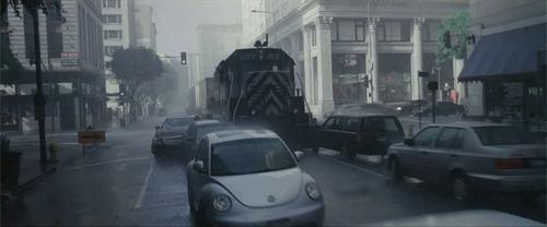 Где-то я уже это видел... Трамвай, Поезд, Машина, На таран, Начало, Гифка