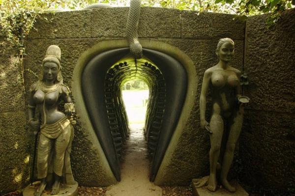 """Парк скульптур """"Путь Виктории"""" в графстве Уиклоу Ирландия, Парк, Скульптура, Длиннопост"""