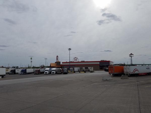 Iowa 80 Дальнобойщики, Тракстоп, Трак, Магазин, Айова, США, Хром, Длиннопост