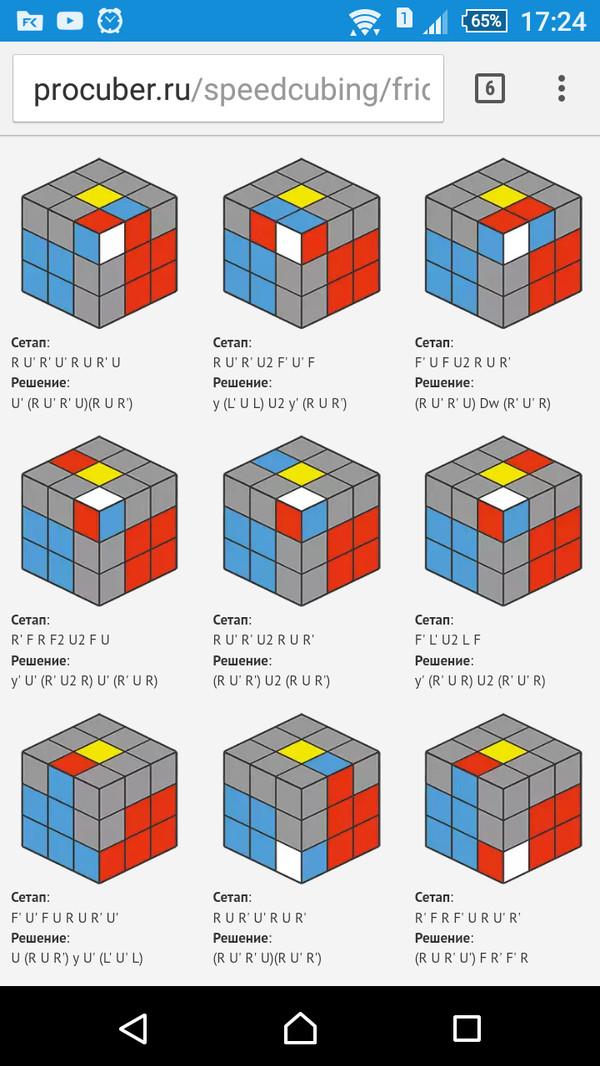 Вопрос. Помощь, вопрос, кубик рубика, сетап