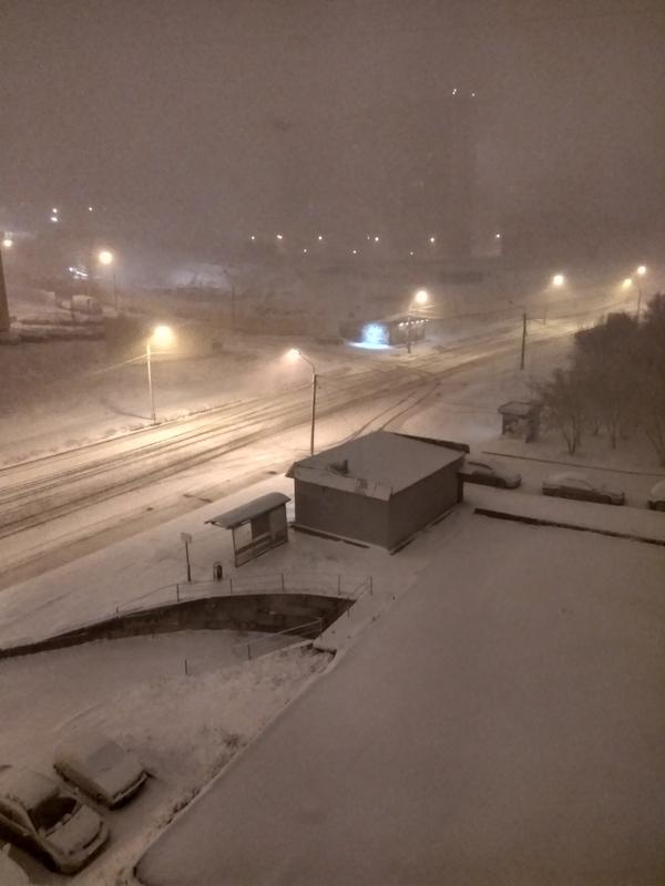 Коротко о весне в Красноярске