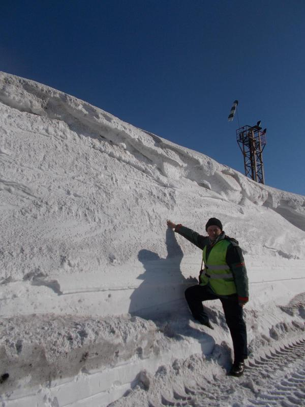 Весенний привет из Воркуты. Снег, фотография, моё