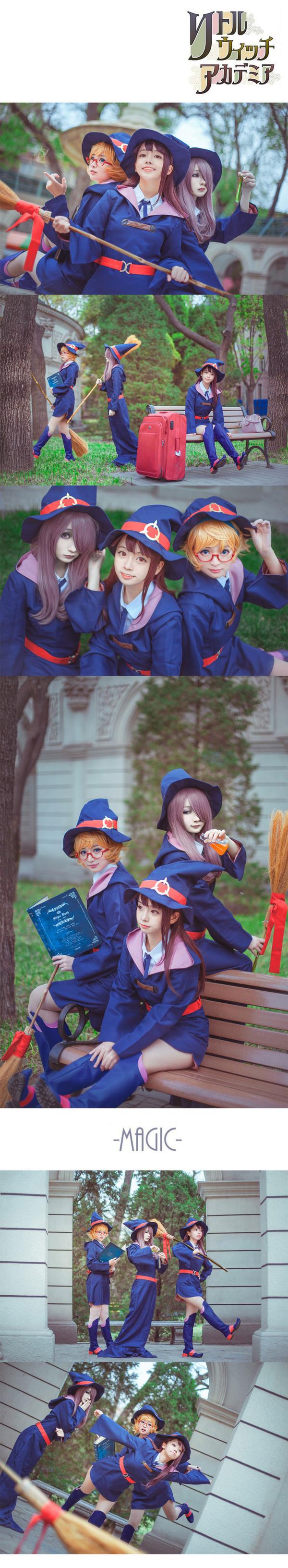 Little Witch Academia cosplay Little Witch Academia, Косплей, Аниме, Длиннопост