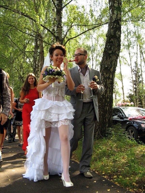 под юбкой у невесты женский форум