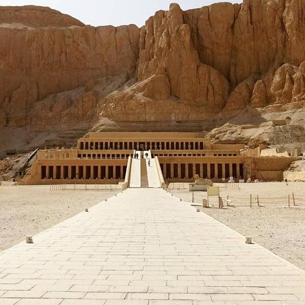 Храм Хатшепсут Египет, Храм, Луксор, Serious Sam