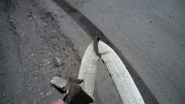 Технологии не стоят на месте Дорожная разметка, Дорога, Россия