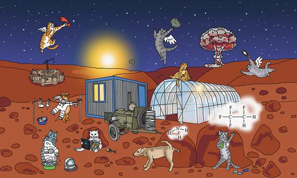 Терраформируй это! Инструкция: как сделать Марс обитаемым марс, терраформирование, космос, КШ, Кот Шредингера, планетология, длиннопост