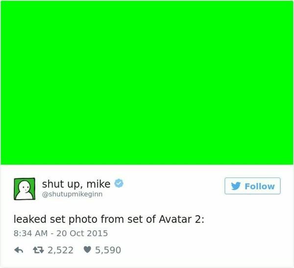 Слив фото из съёмок фильма Avatar 2: