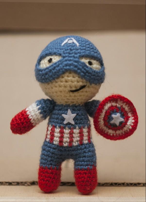 Вязанные герой Marvel handmade, мстители, spider-man, Deadpool, Халк, капитан америка, хэндмайд, длиннопост