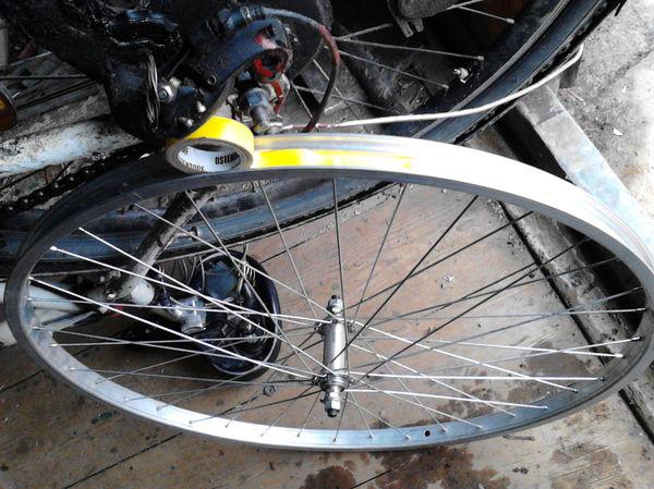 Переделка колес с 26 дюймов на 28 дюймов С 26 дюймов на 28 дюймов, Переделка колес велосипеда, Колхоз, Длиннопост