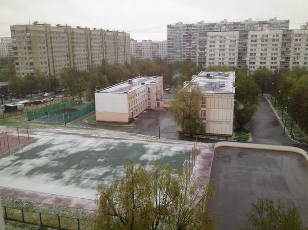 Всемирное потепление говорите? 8 мая, Москва.
