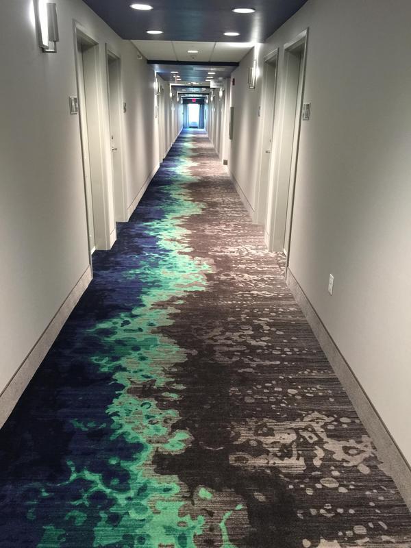 Просто ковёр в отеле.